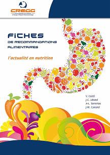 Fiches de recommandations nutrition CREGG